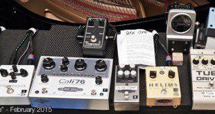 Gli effetti di Gilmour nello studio Medina 1