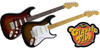 classic vibe series guitars