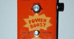 COLORSOUND POWER BOOST 1