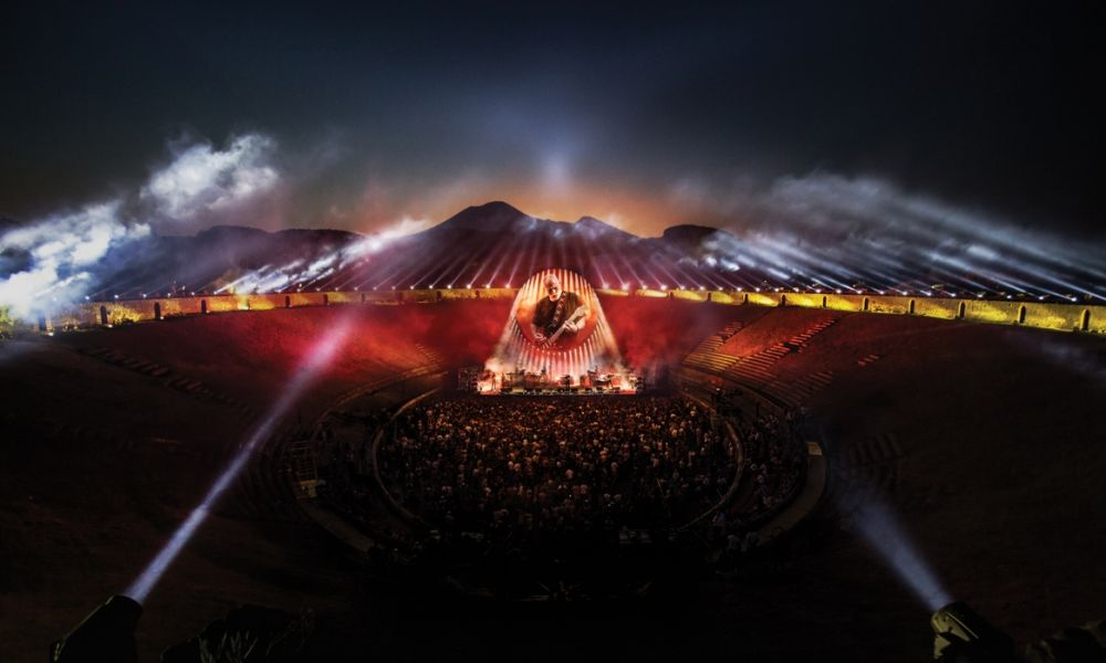 david gilmour live at pompeii review