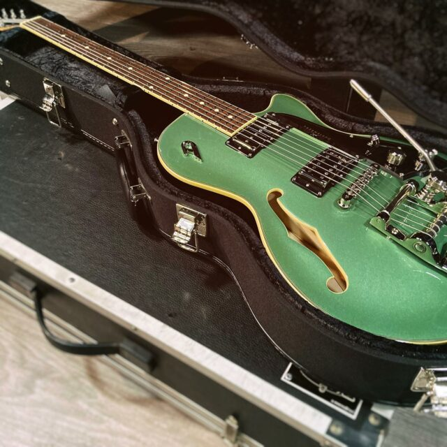 Duesenberg Starplayer TV Catalina Harbor Green 🎸  #duesenberg #duesenbergguitars #statplayer #guitar